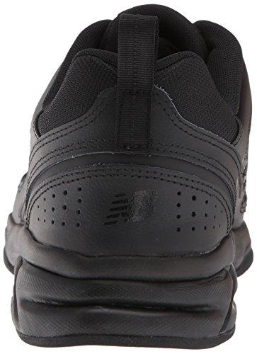 300b2fcfbc991 ... New Balance Men's MX623v3 Casual Comfort Training Shoe, Black Leather,  ...