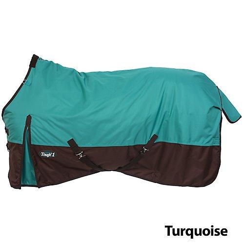600 Denier Turnout Blanket (Tough-1 600 Denier Turnout Blanket 72In Turquoise)