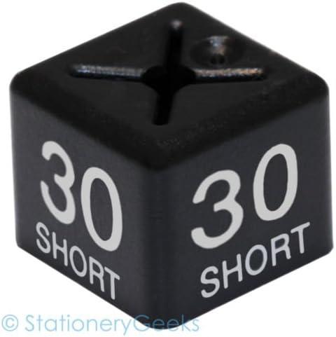 Stationery Geeks Coat Hanger Size Cubes Menswear Jacket Size 30 Short Black Garment Clothes