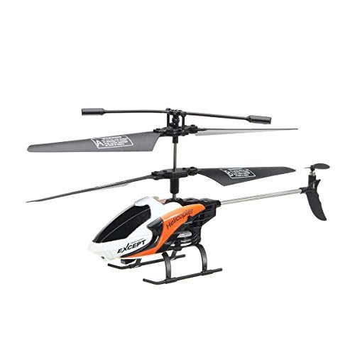 Remote Control Helicopter for Kids,REALACC FQ777-610 3.5CH Mini Helicopter RC Remote Control Helicopter With Gyro RTF Best Choice for Beginner Remote Control Toy - Rtf Mini Rc Helicopter