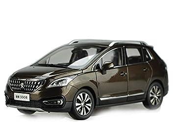 Peugeot 3008 2016 Echelle 1 18 Voiture Miniature Noir Paudi Amazon