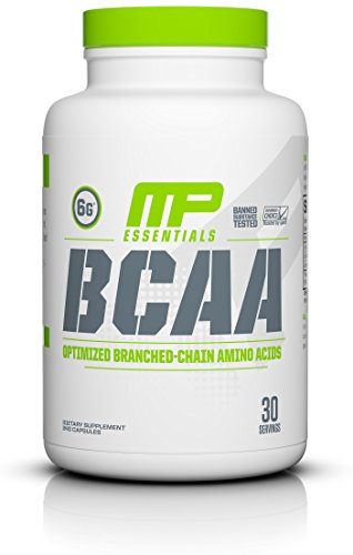 MP Essentials BCAA Powder, 6 Grams of BCAA Amino Acids, Post-Workout Recovery Caps for Muscle Recovery and Muscle Building, Valine Powder, BCCA Post-Workout, Unflavored, 30 Servings (Best Usn Product For Muscle Gain)