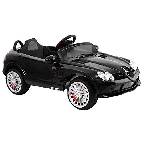 Costzon mercedes benz r199 12v kids ride on car licensed for Mercedes benz remote control ride on car