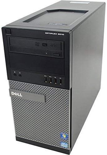 Dell Optiplex 9010 TW Premium Business Desktop Computer Intel Quad Core i5-3470 Processor up to 3.60 GHz , 8GB RAM, 2TB HDD, DVD, USB 3.0, Windows 10 Pro Renewed