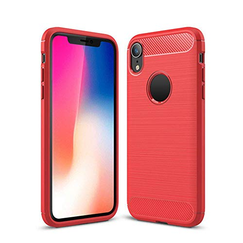 Christmas Hot Sale!!!Kacowpper Ultrathin Slim Fiber Carbon Silicone Rugged Case Cover Compatible iPhone XS/XS Max/XR