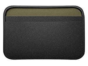 Magpul DAKA Essential Wallet MAG758 Black Laser Engraved Seabees Emblem from NDZ Performance