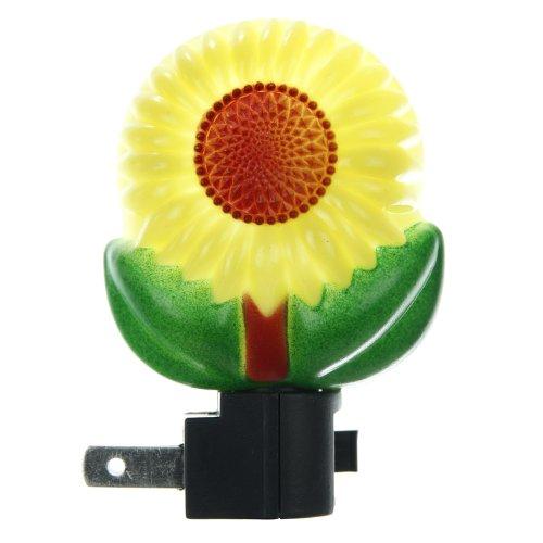 Sunlite 04022-SU E157 Sunflower Decorative Night Light, Yellow