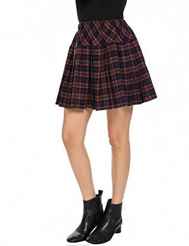 Houndstooth Mini Skirt - 8