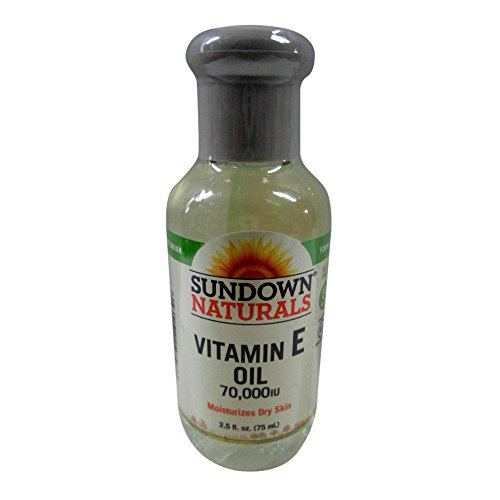 Sundown Naturals Vitamin E Oil 2.50 oz ( Packs of 2)