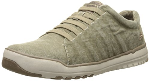 Skechers Usa Mens Oldis Solano Instappers Loafer Zand