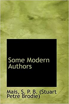 Book Some Modern Authors