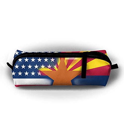 Y&C-Nan USA Arizona State Flag Pencil Case Pen