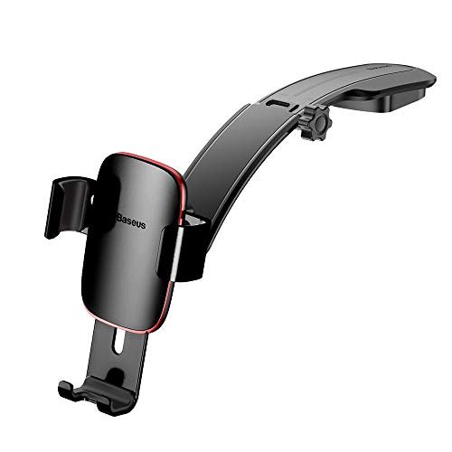 Baseus Car Phone Mount, Metal Age Connecting Gravity Center Console Compatible with iPhone Xs/XS MAX/8/8Plus/7/7Plus/6s/6Plus/5S, Galaxy S5/S6/S7/S8, Google Nexus, LG, Huawei and More