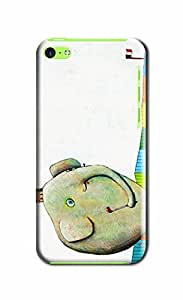 Everything Store DIY Elephant Playing Golf Phone Shell Hard Case Perfect For Iphone 6 With 5.5