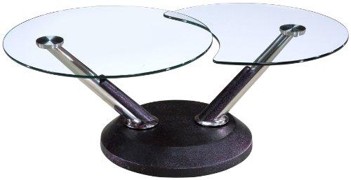 Amazon Com Magnussen Modesto Metal Round Cocktail Table Kitchen Dining