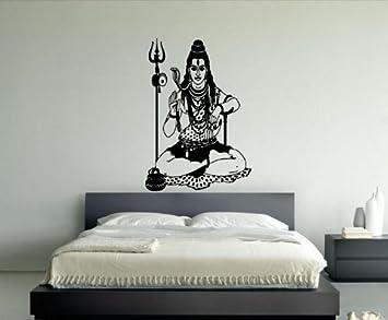 Amazon.com: Wall Decor Vinyl Sticker Room Decal Art Indian Hindu ...