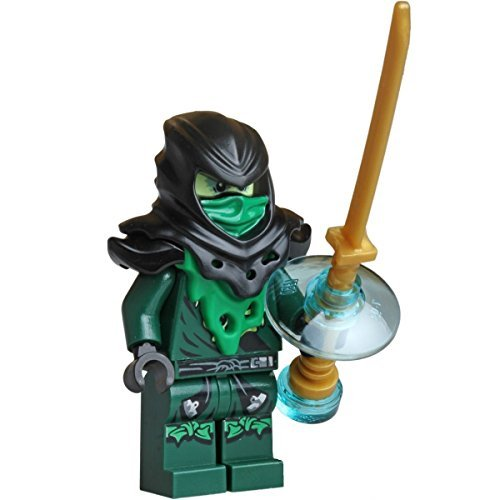 LEGO Ninjago Minifigure - Lloyd Ghost Evil Possessed with Gold Weapon (70732) -