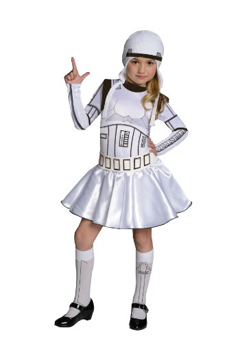 picture of Star Wars Storm Trooper Costume Dress, Large