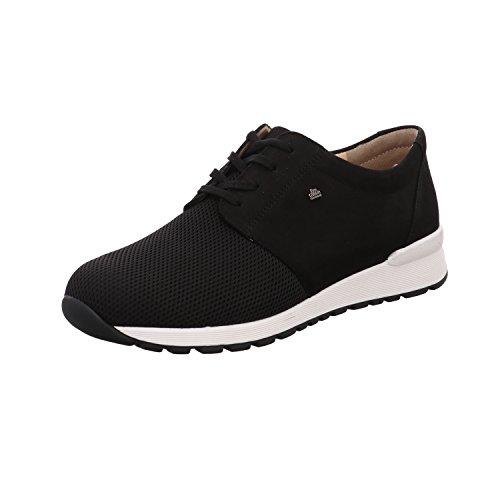 men leather shoes - Zapatos de cordones de Otra Piel para hombre negro negro, color negro, talla 41