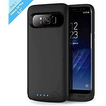 Amazon.com: Elebase Galaxy S8 Plus Battery Case,5500mAh ...