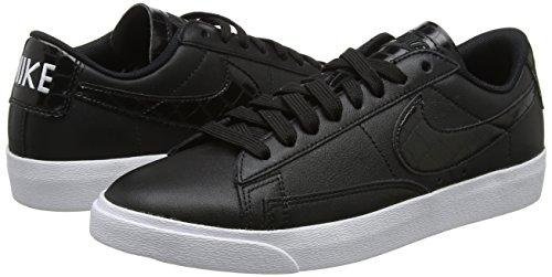 Basket 001 W Nero Donna Nike Blazer Da Low black Scarpe Ess FxYUqAO