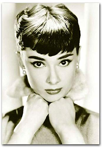 Audrey Hepburn Close up Refrigerator Magnet Size 2.5