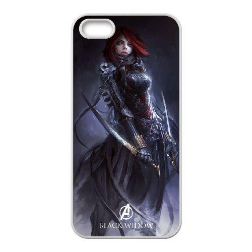 Avengers Age Of Ultron coque iPhone 5 5S Housse Blanc téléphone portable couverture de cas coque EBDOBCKCO11985