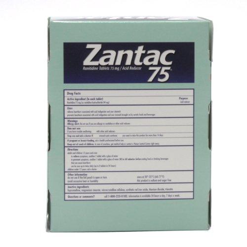Zantac 75 in Single Packets
