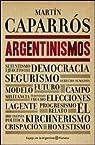 Argentinismos par Caparros