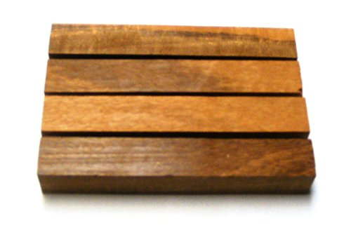 African Walnut Finish (African Tigerwood Pen Blanks | Wood Pen Blanks 4 Pack | 3/4