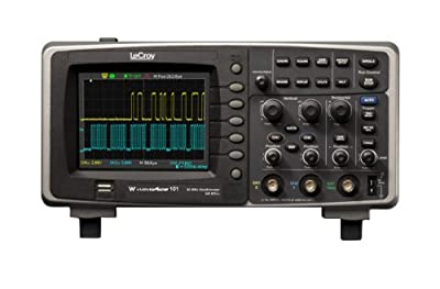 "LeCroy WaveAce 200 Series 5.7"" TFT-LCD Portable Digital Oscilloscope, 4 Input Channels, 1GS/s (2GS/s interleaved),"