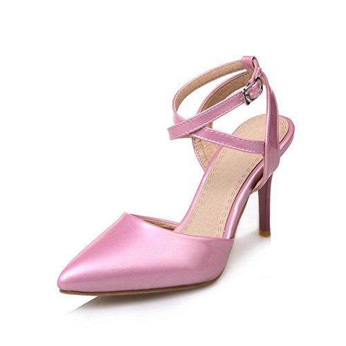 36 Rose Femme BalaMasa Compensées Sandales 5 Rose qwxSnXnaHT