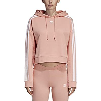 adidas Originals Women's Cropped Hoodie at Women's Clothing store
