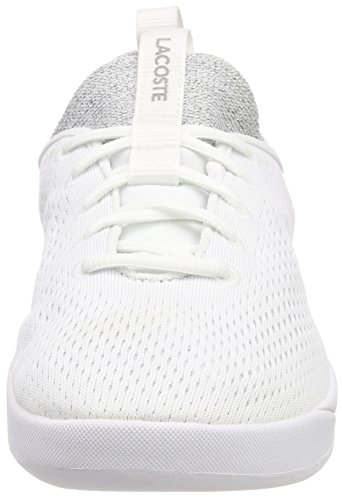 wht 21g Lacoste 1 Spirit 0 Spw 318 Donna Lt Bianco wht Sneaker 2 vwrvxq7AH