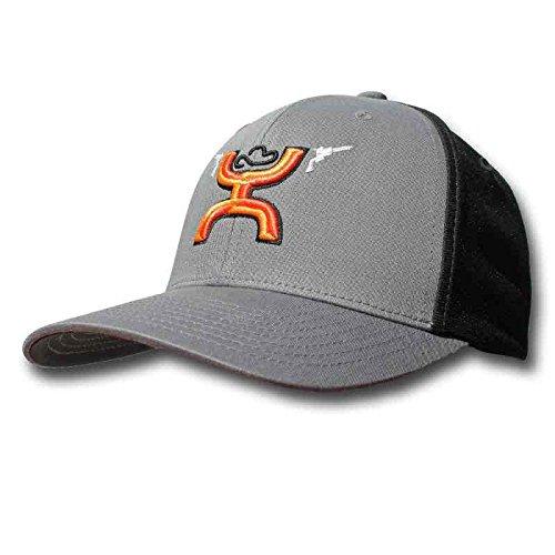 d158a40d17d Hooey Men s Gunner Embroidered Baseball Cap Grey ...