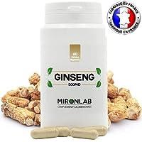 Ginseng Panax Meyer 500mg / gélule   pur extrait de ginseng fortement dosé   fabriqué en France