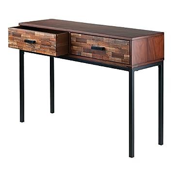 Winsome Wood 87643-WW Jefferson Occasional Table Nutmeg