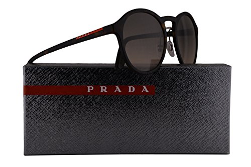 Prada PS01SS Sunglasses Havana Rubber w/Brown Gradient 53mm Lens U616S1 SPS01S PS 01SS SPS - Sunglasses Authentic Prada