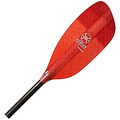Werner Powerhouse Fiberglass Paddle - Bent Shaft
