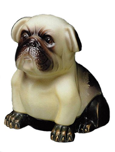 Retired Andrea by Sadek Bulldog Bronze Accent Lamp