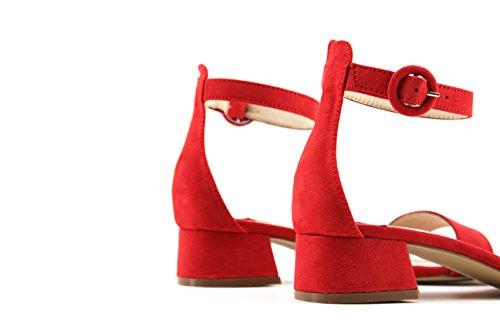 MODELISA Damen Sandalen Rot