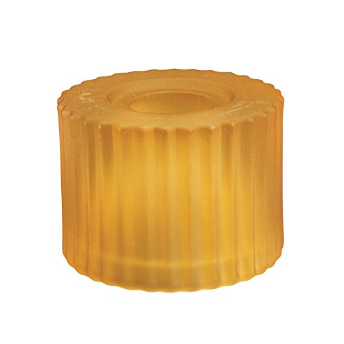 (WAC Lighting G112-AM G100 Series Cylinder Glass Shade, Amber)