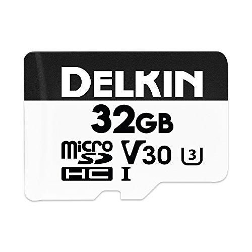 Delkin DDMSDW66032G Devices 32GB Advantage microSDHC UHS-I (U3/V30) Memory Card
