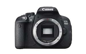 Canon EOS 700D 18MP Digital SLR Camera (Black) (Body Only) - International Version (No Warranty)