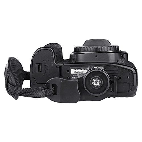 Insten Leather Hand Grip Strap Compatible with Nikon D5000 D5100 D7000 D90