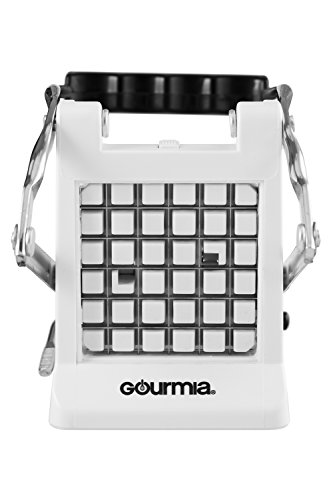 Gourmia GCU9245 Cutter Potato With 2 Also Use for Vegetables Like Cucumber, Carrot & More,White