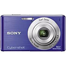 Sony Cyber-Shot DSC-W530 14.1 MP Digital Still Camera with Carl Zeiss Vario-Tessar 4x Wide-Angle Optical Zoom Lens and 2.7-inch LCD (Blue)
