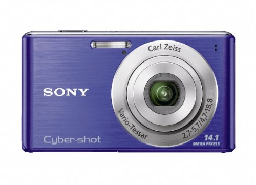 Cyber Shot Still Camera - Sony Cyber-Shot DSC-W530 14.1 MP Digital Still Camera with Carl Zeiss Vario-Tessar 4x Wide-Angle Optical Zoom Lens and 2.7-inch LCD (Blue)
