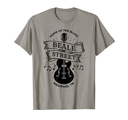 (Memphis Beale Street Shirt TN Blues Music Gift T-Shirt )