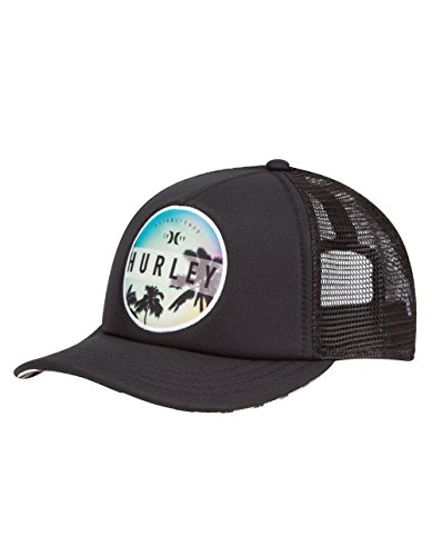 Hurley Women's Printed Trucker, Black, One Size